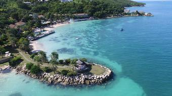 Receive all-inclusive benefits valued at $1100* at Blue Waters Resort & Spa and The Cove Suites Antigua